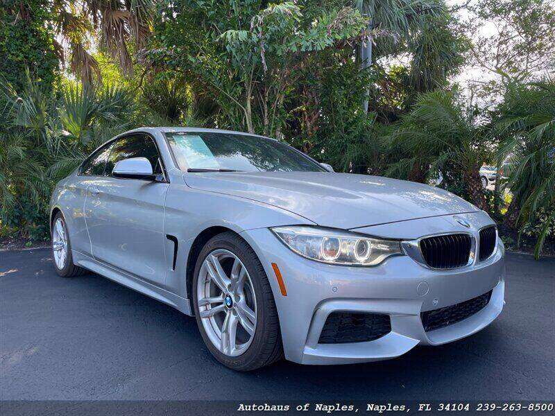 2014 BMW 4 Series for sale at Autohaus of Naples in Naples FL