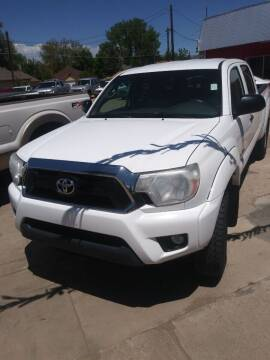 2015 Toyota Tacoma for sale at PYRAMID MOTORS AUTO SALES in Florence CO