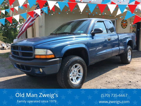 2001 Dodge Dakota for sale at Old Man Zweig's in Plymouth PA