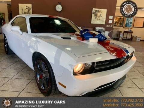 2013 Dodge Challenger for sale at Amazing Luxury Cars in Snellville GA