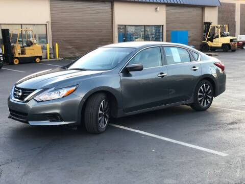 2018 Nissan Altima for sale at Exelon Auto Sales in Auburn WA