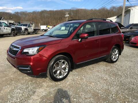 2017 Subaru Forester for sale at T James Motorsports in Gibsonia PA