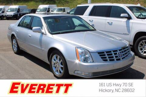 2011 Cadillac DTS for sale at Everett Chevrolet Buick GMC in Hickory NC