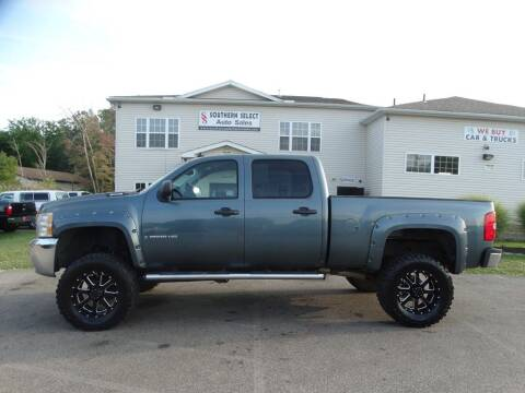 2008 Chevrolet Silverado 2500HD for sale at SOUTHERN SELECT AUTO SALES in Medina OH
