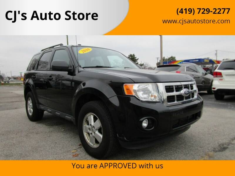 2010 Ford Escape for sale at CJ's Auto Store in Toledo OH