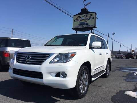 2011 Lexus LX 570 for sale at A & D Auto Group LLC in Carlisle PA