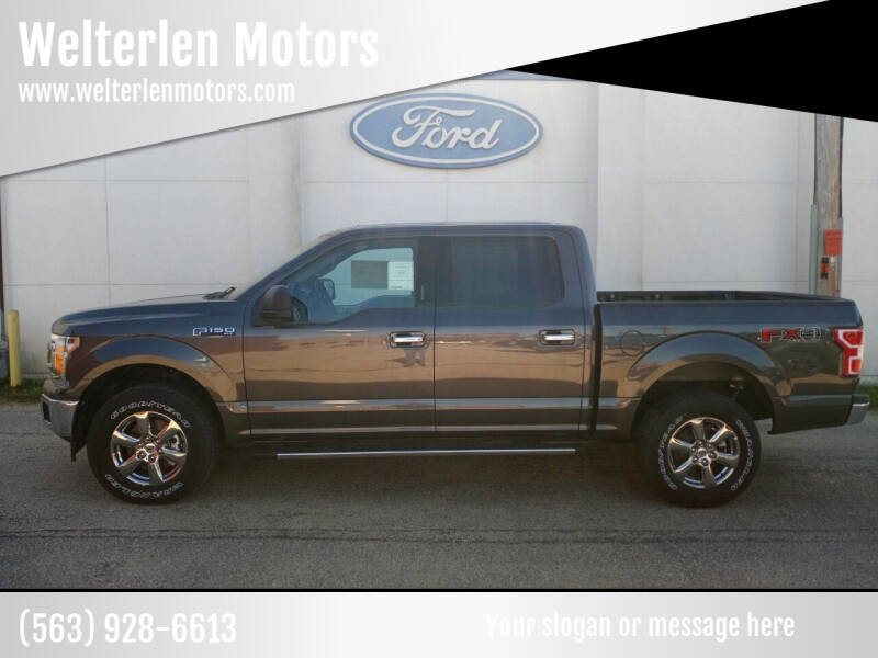 2020 Ford F-150 for sale at Welterlen Motors in Edgewood IA