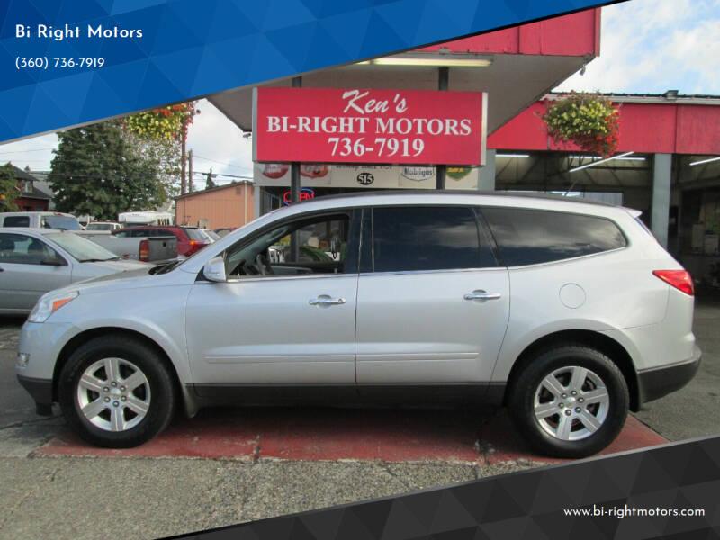 2012 Chevrolet Traverse for sale at Bi Right Motors in Centralia WA