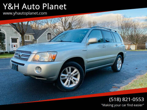2007 Toyota Highlander Hybrid for sale at Y&H Auto Planet in West Sand Lake NY