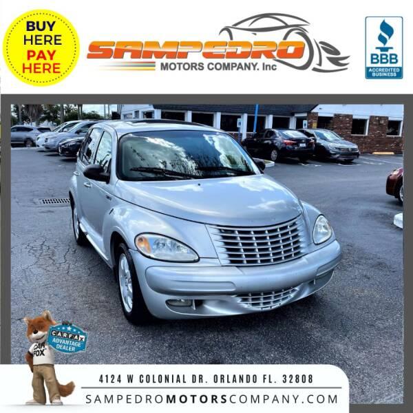 2005 Chrysler PT Cruiser for sale at SAMPEDRO MOTORS COMPANY INC in Orlando FL