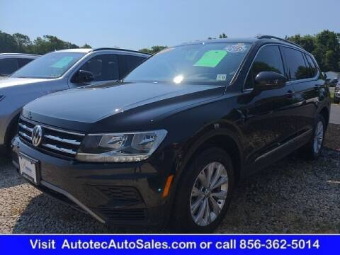 2018 Volkswagen Tiguan for sale at Autotec Auto Sales in Vineland NJ