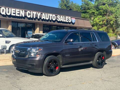 2015 Chevrolet Tahoe for sale at Queen City Auto Sales in Charlotte NC
