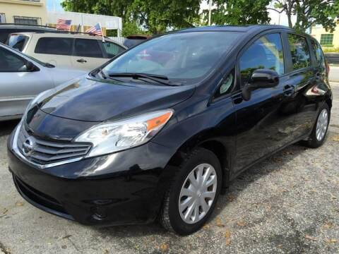 2014 Nissan Versa Note for sale at Trans Copacabana Auto Sales in Hollywood FL
