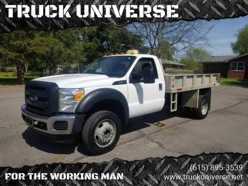 2013 Ford F-550 Super Duty for sale at TRUCK UNIVERSE in Murfreesboro TN