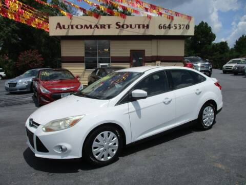 2012 Ford Focus for sale at Automart South in Alabaster AL
