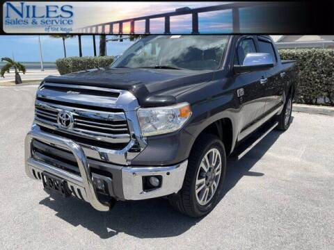2016 Toyota Tundra for sale at Niles Sales and Service in Key West FL