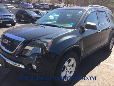 2011 GMC Acadia for sale at J & M Automotive in Naugatuck CT