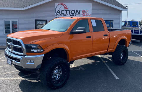 2014 RAM Ram Pickup 3500 for sale at Action Motor Sales in Gaylord MI