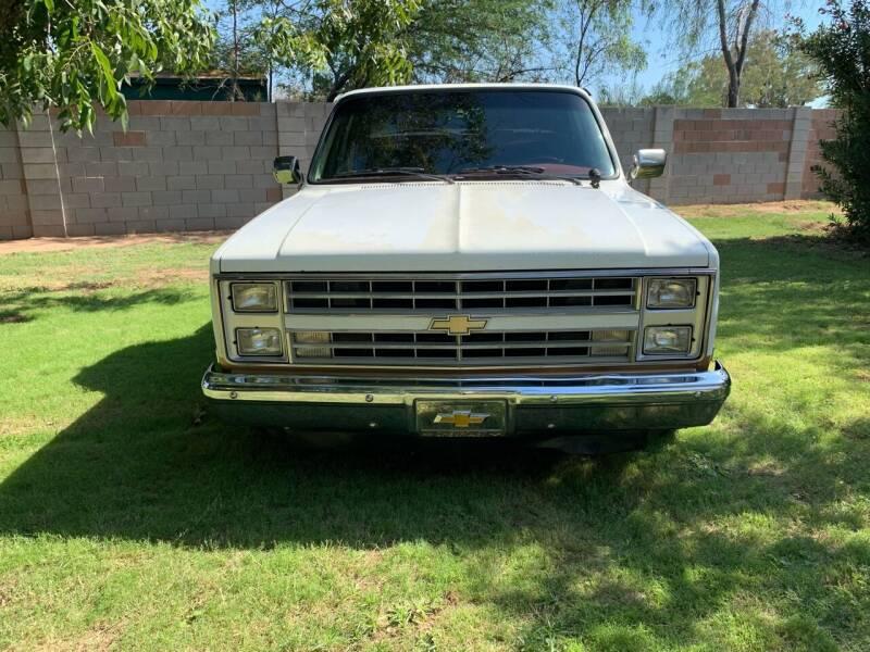 1986 Chevrolet Silverado P/U for sale at AZ Classic Rides in Scottsdale AZ