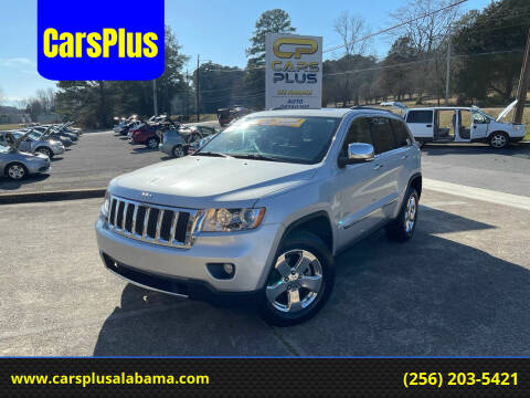 2012 Jeep Grand Cherokee for sale at CarsPlus in Scottsboro AL