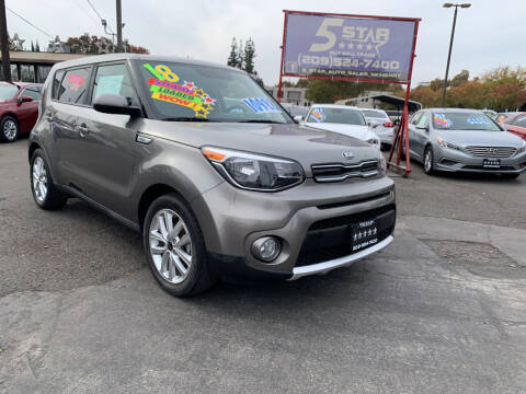 2018 Kia Soul for sale at 5 Star Auto Sales in Modesto CA