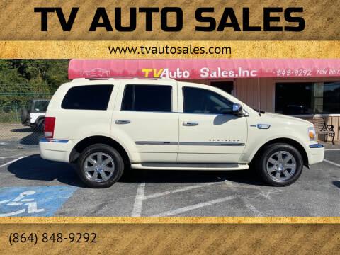 2008 Chrysler Aspen for sale at TV Auto Sales in Greer SC
