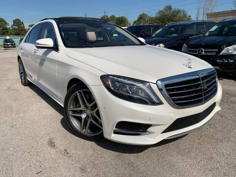 2014 Mercedes-Benz S-Class for sale at KAYALAR MOTORS in Houston TX