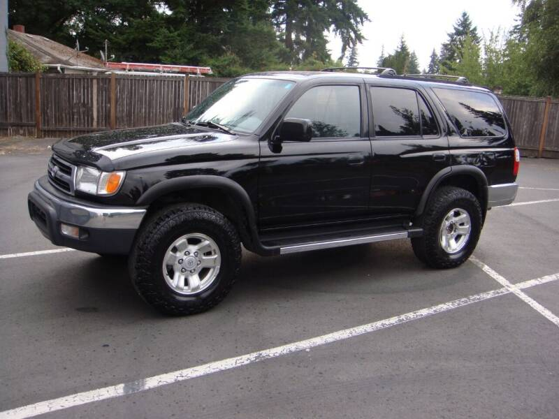 1999 Toyota 4Runner for sale at Western Auto Brokers in Lynnwood WA