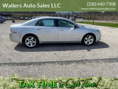 2010 Chevrolet Malibu for sale at Wallers Auto Sales LLC in Dover OH