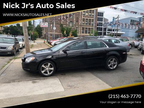 2011 Chevrolet Malibu for sale at Nick Jr's Auto Sales in Philadelphia PA