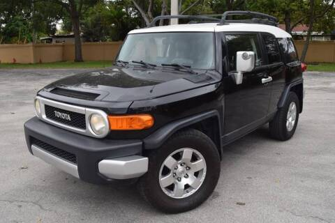 2008 Toyota FJ Cruiser for sale at Easy Deal Auto Brokers in Hollywood FL