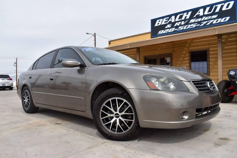 2005 Nissan Altima for sale at Beach Auto and RV Sales in Lake Havasu City AZ