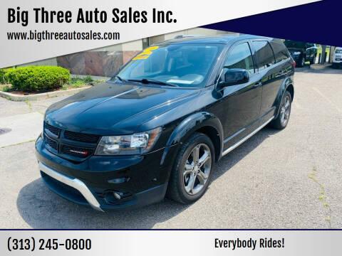 2016 Dodge Journey for sale at Big Three Auto Sales Inc. in Detroit MI