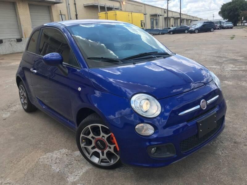 2013 FIAT 500 for sale at TETCO AUTO SALES  / TETCO FUNDING in Dallas TX