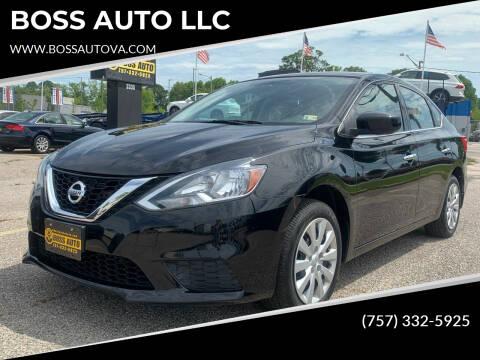 2017 Nissan Sentra for sale at BOSS AUTO LLC in Norfolk VA