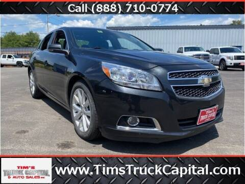 2013 Chevrolet Malibu for sale at TTC AUTO OUTLET/TIM'S TRUCK CAPITAL & AUTO SALES INC ANNEX in Epsom NH