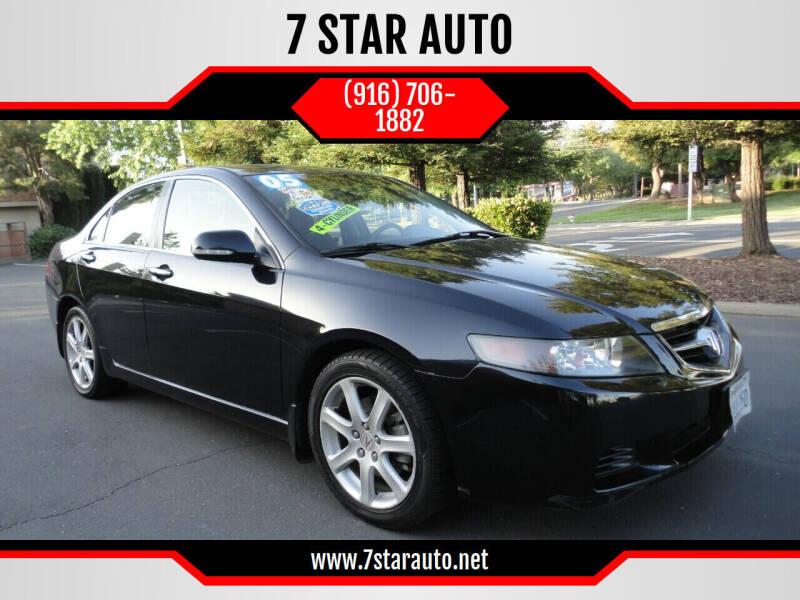 2005 Acura TSX for sale at 7 STAR AUTO in Sacramento CA