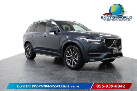 2018 Volvo XC90 for sale at Exotic World Motor Cars in Addison TX