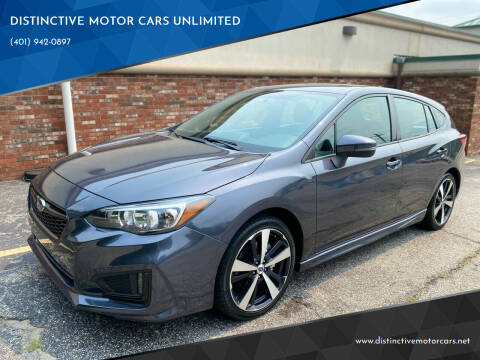 2017 Subaru Impreza for sale at DISTINCTIVE MOTOR CARS UNLIMITED in Johnston RI