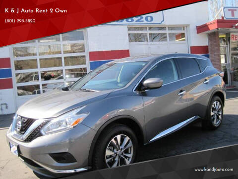 2017 Nissan Murano for sale at K & J Auto Rent 2 Own in Bountiful UT