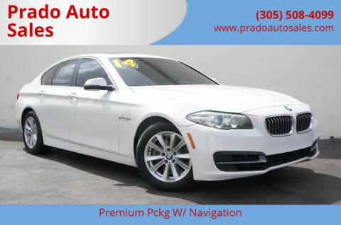 2014 BMW 5 Series for sale at Prado Auto Sales in Miami FL
