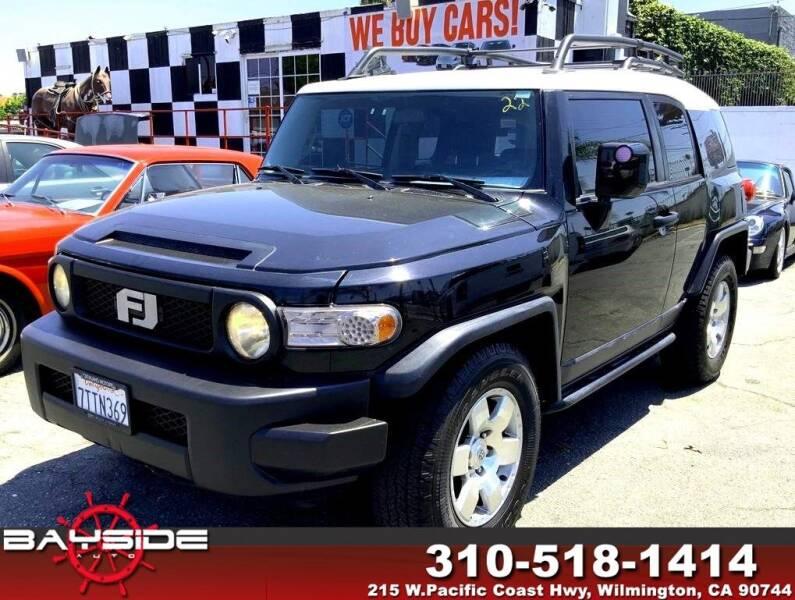 2007 Toyota FJ Cruiser for sale at BaySide Auto in Wilmington CA