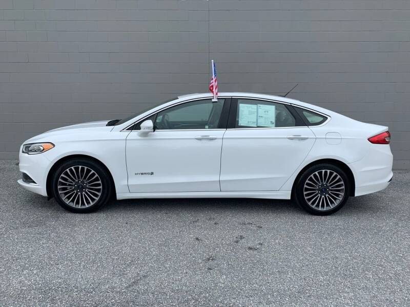 2018 Ford Fusion Hybrid for sale at Automax of Frederick in Frederick MD