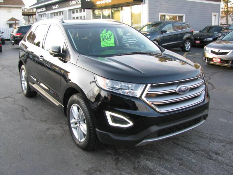 2017 Ford Edge for sale at CLASSIC MOTOR CARS in West Allis WI