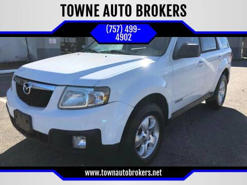 2008 Mazda Tribute for sale at TOWNE AUTO BROKERS in Virginia Beach VA