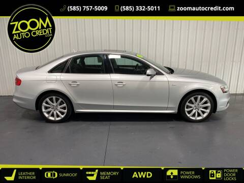 2014 Audi A4 for sale at ZoomAutoCredit.com in Elba NY