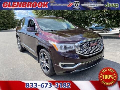 2018 GMC Acadia for sale at Glenbrook Dodge Chrysler Jeep Ram and Fiat in Fort Wayne IN