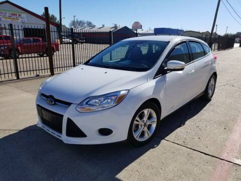 2014 Ford Focus for sale at A & J Enterprises in Dallas TX