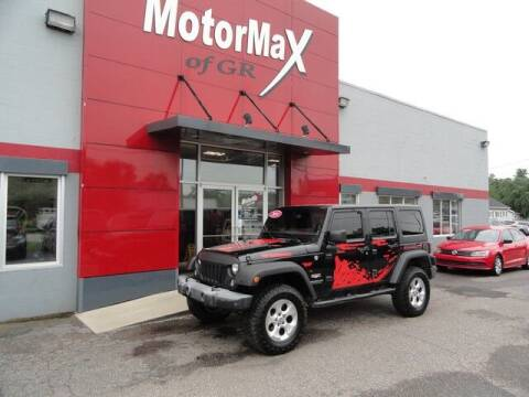 2014 Jeep Wrangler Unlimited for sale at MotorMax of GR in Grandville MI