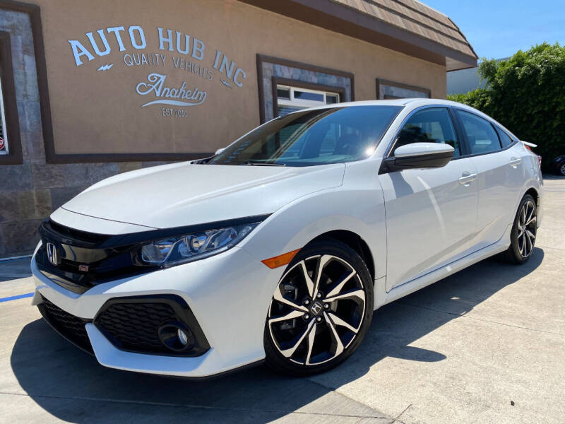 2017 Honda Civic for sale at Auto Hub, Inc. in Anaheim CA